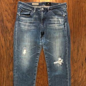 AG The Steve Cuff Jeans - Petite